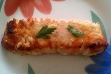 דג סלומון אפוי בתנור